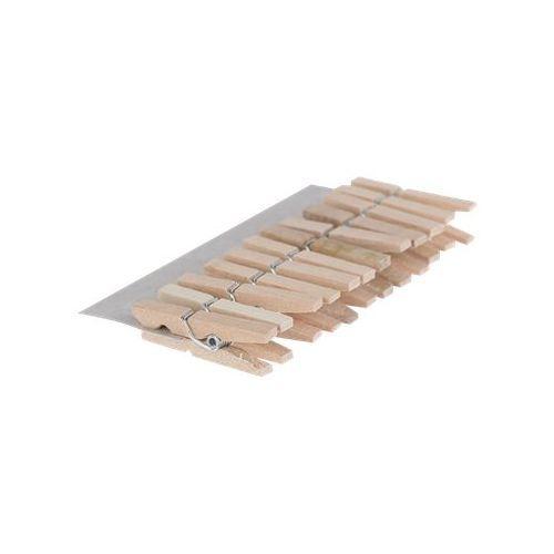 Cultura - 12 Pinces à linge - 3 cm - naturel - bois