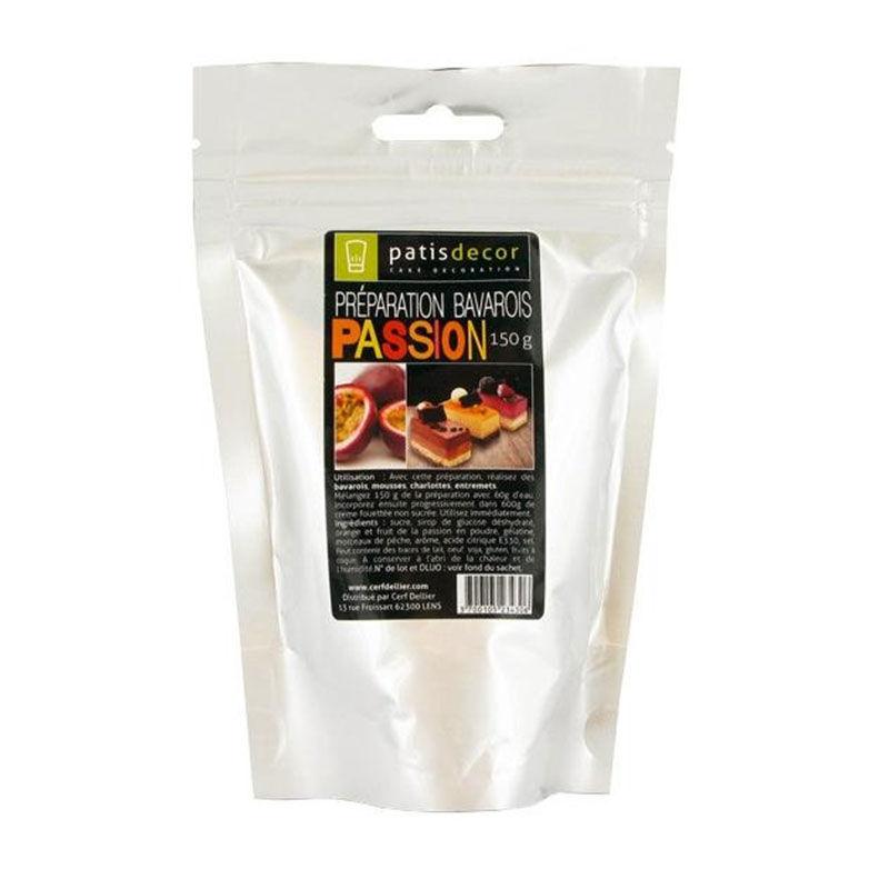 Préparation Bavarois - Passion - 150g - Patisdécor