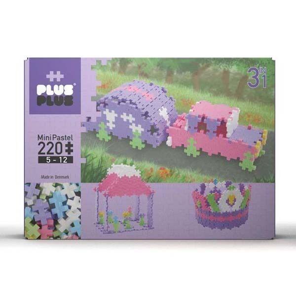 Plus Plus 3 En 1 Pack Mini Pastel - 220 Pièces