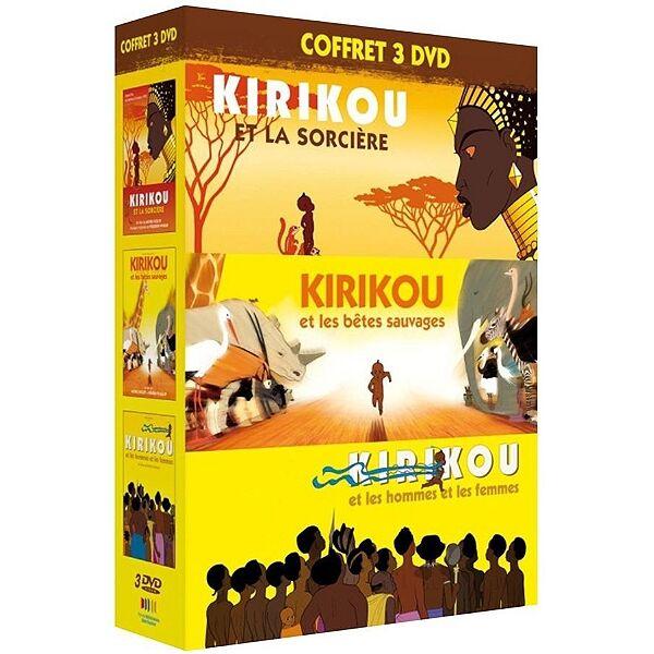 Gebeka Films Kirikou Et La Sorcière + Kirikou Et Les Bêtes Sauvages + Kirikou Et Les Hommes Et Les Femmes