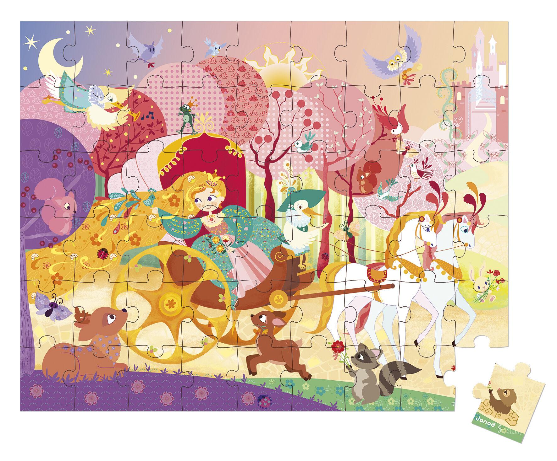 Valisette Puzzle Princesse - 54 Pièces