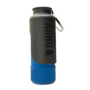 KONG H2O Bouteille d'eau en acier inoxydable isolé bleu 739 ml - Publicité