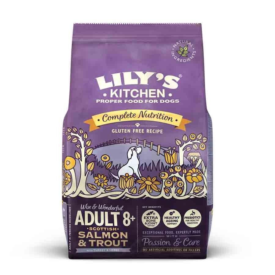 Lily's Kitchen Saumon et Truite Sans Gluten Chien Senior 2,5 kg