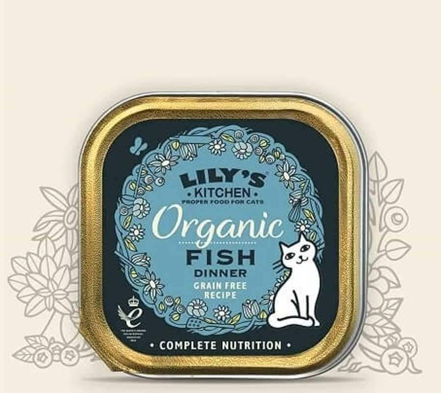 Lily's Kitchen Offre -10% Lily's Kitchen Organic Poisson Bio Chat 19 x 85 g
