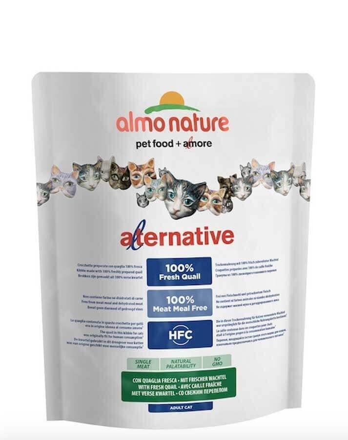 Almo Alternative Almo Nature Alternative Chat Adulte Caille et Riz 2 kg