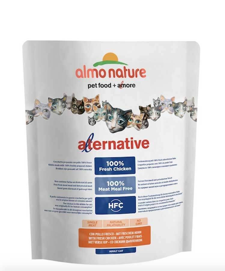 Almo Alternative Almo Nature Alternative Chat Adulte Poulet et Riz 2 kg