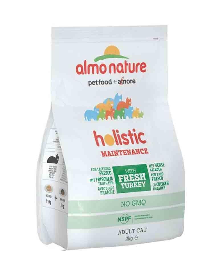 Holistic Almo Nature Chat Holistic Dinde et Riz 2 kg