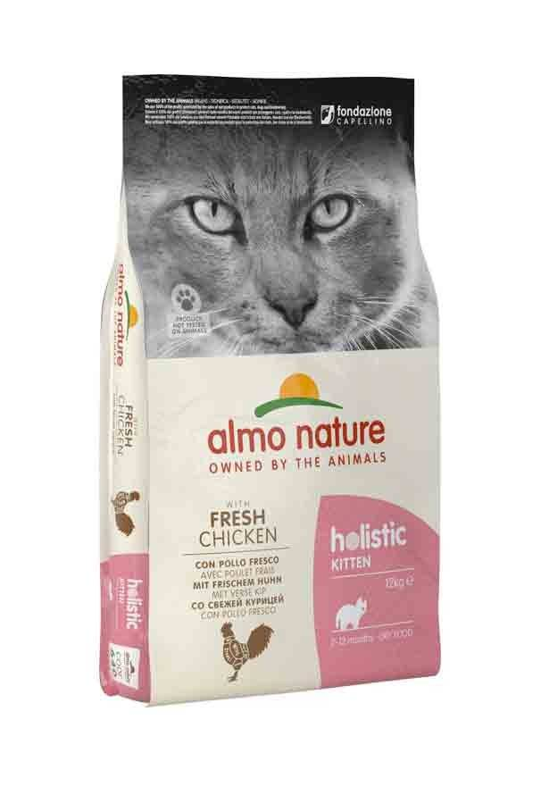 Holistic Almo Nature Chat Holistic KITTEN au Poulet frais 12 kg