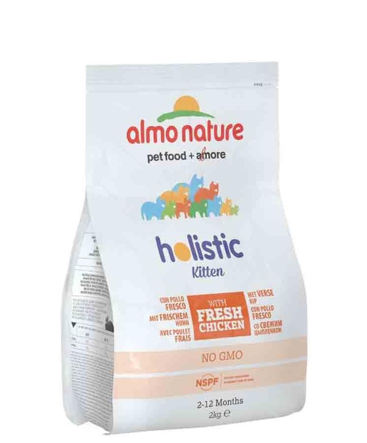 Holistic Almo Nature Chat Holistic KITTEN Poulet et Riz 2 kg