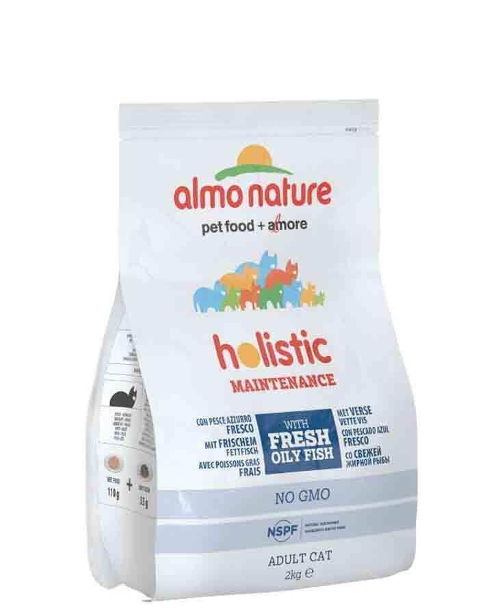 Holistic Almo Nature Chat Holistic Poisson Bleu et Riz 2 kg