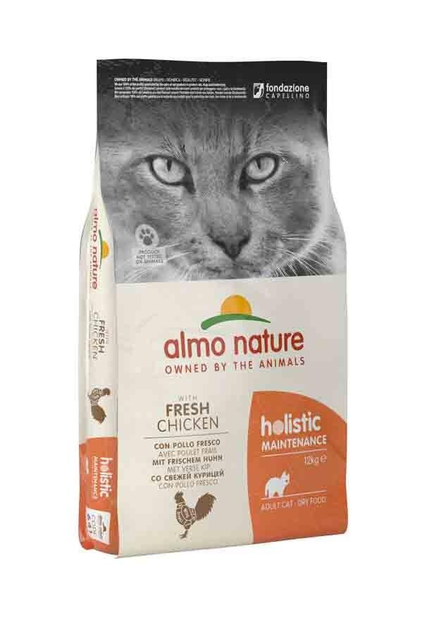 Holistic Almo Nature Chat Holistic Maintenance Poulet frais 12 kg