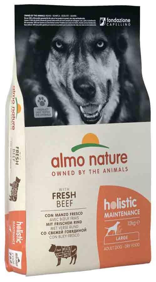 Holistic Almo Nature Holistic Chien Adult Large Boeuf frais 12 kg