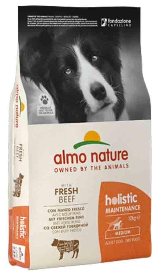 Holistic Almo Nature Holistic Chien Adult Medium Boeuf frais 12 kg