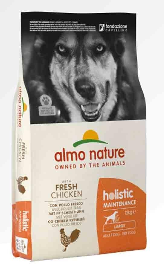 Holistic Almo Nature Holistic Chien Adult Large Poulet frais 12 kg