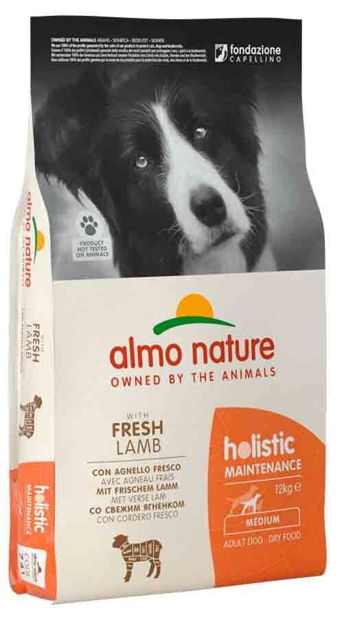 Holistic Almo Nature Holistic Chien Adult Medium Agneau frais 12 kg