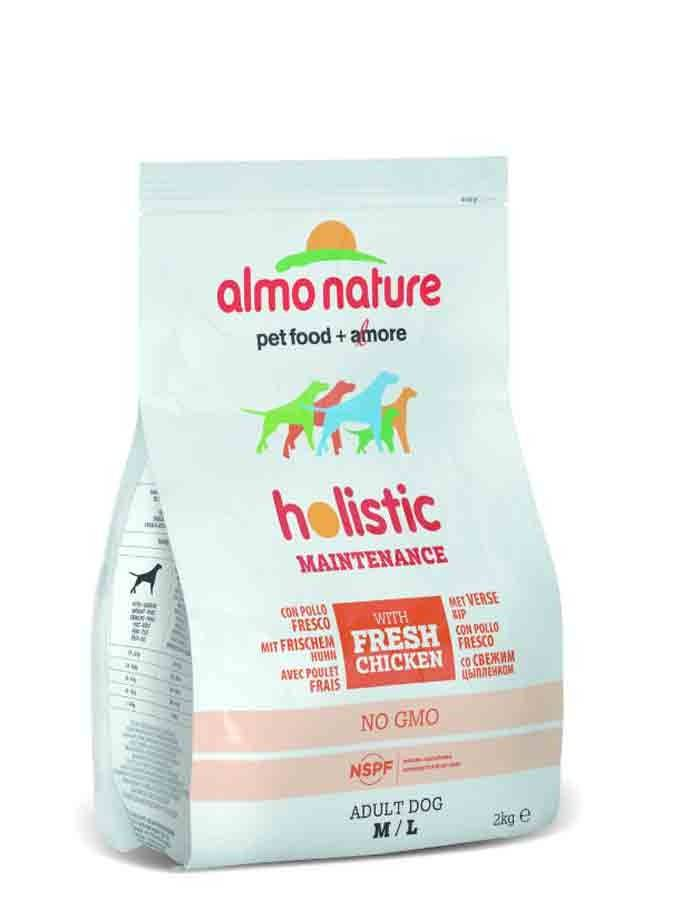 Holistic Almo Nature Holistic Chien Adult Medium Poulet Frais 2 kg