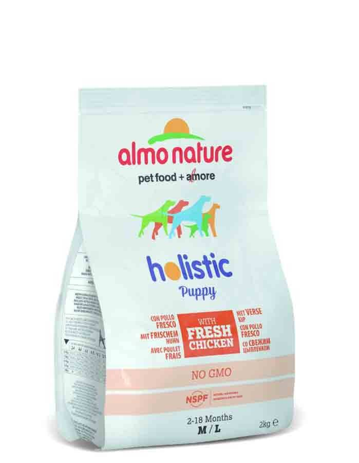 Holistic Almo Nature Holistic Chien Puppy Medium Poulet Frais 2 kg