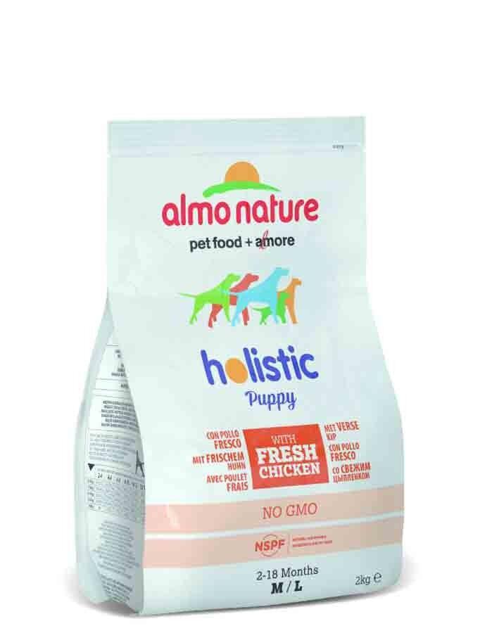 Holistic Almo Nature Chien Holistic Medium Puppy Poulet et riz 2 kg