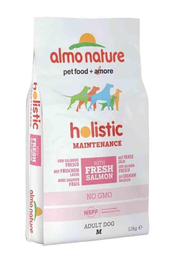 Holistic Almo Nature Holistic Chien Adult Medium Saumon Frais 12 kg