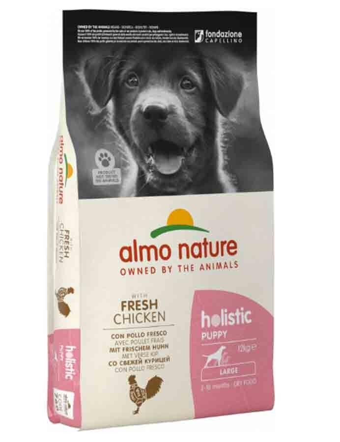 Holistic Almo Nature Holistic Chien Puppy Large Poulet frais 12 kg