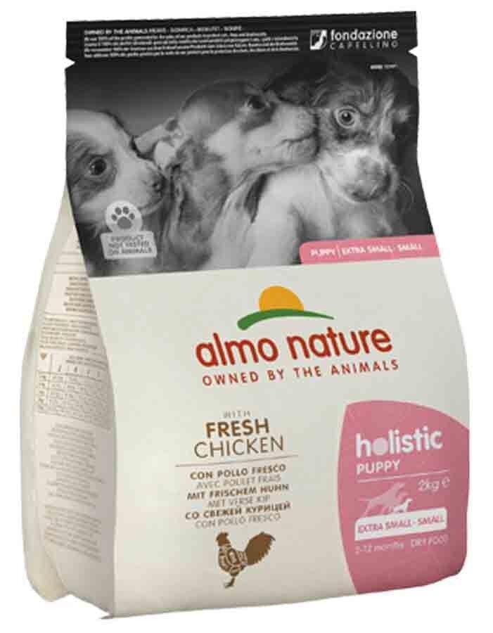 Holistic Almo Nature Holistic Chien Puppy Small Poulet frais 2 kg
