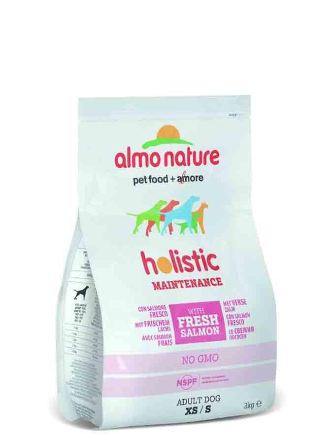 Holistic Almo Nature Holistic Chien Adult Small Saumon Frais 2 kg