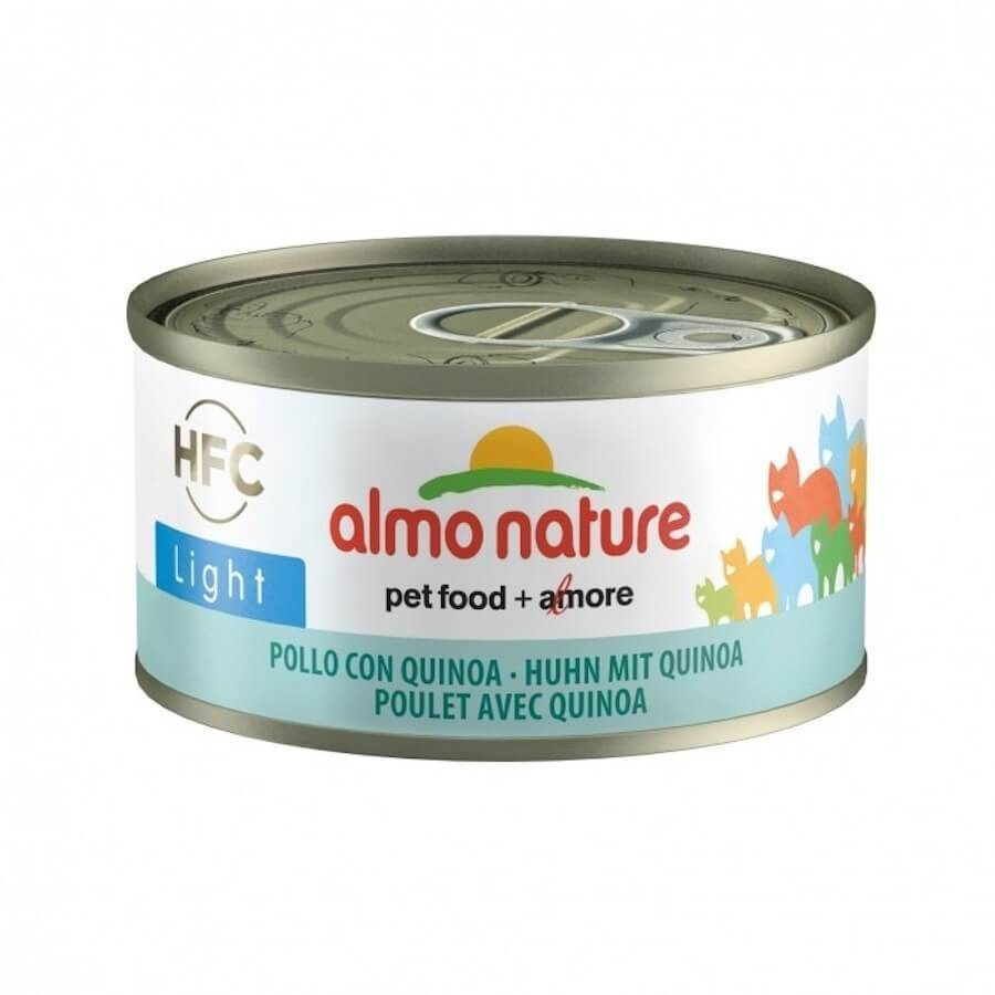 HFC Almo Nature Chat Light HFC Poulet et Quinoa 24 x 70 g