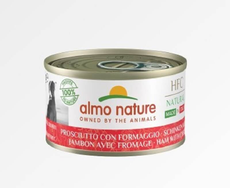 Almo HFC Natural Almo Nature Chien Natural HFC Made In Italy Jambon Parmesan 24 x 95 g