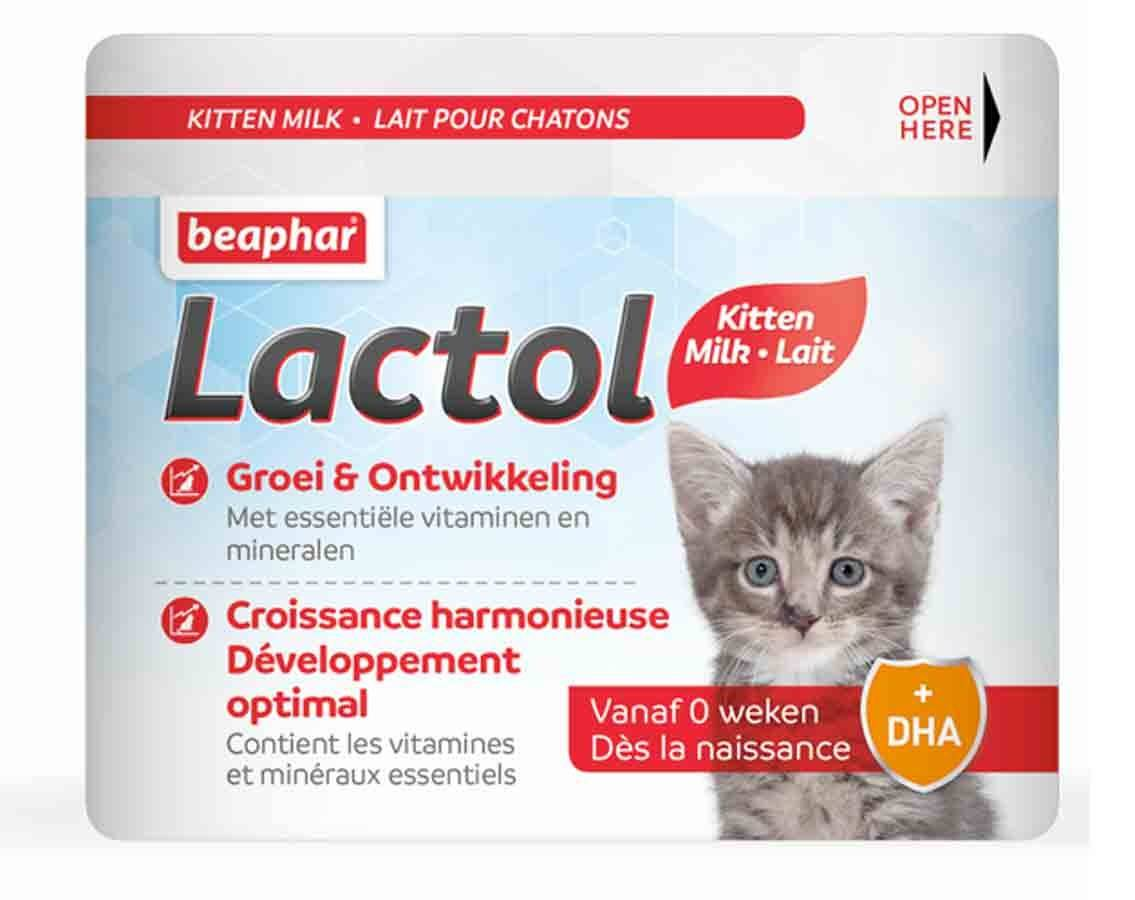 Beaphar Lactol lait maternisé pour chatons 500 g