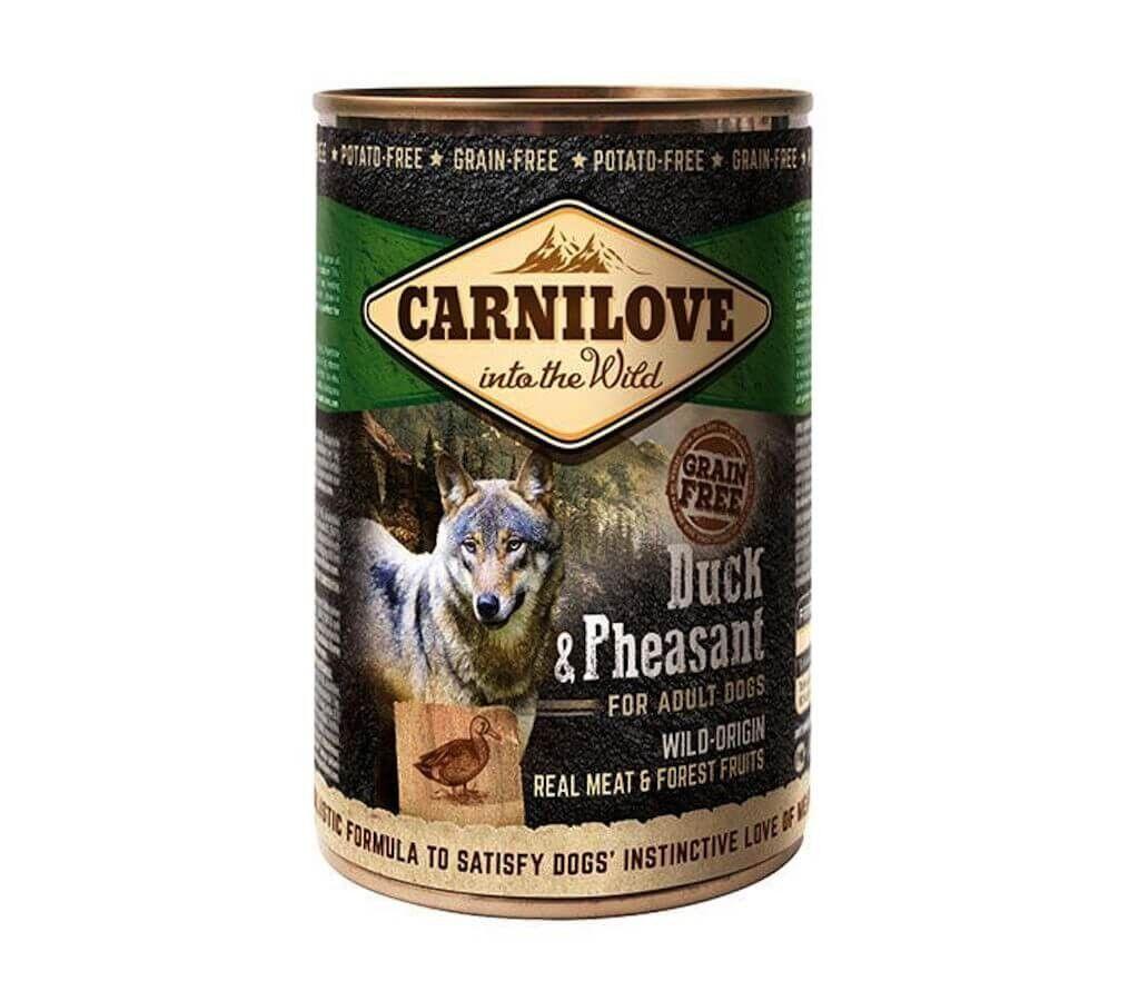 Carnilove Adult Carnilove Boites Sans Céréales Canard et Faisan chien 6 x 400 g