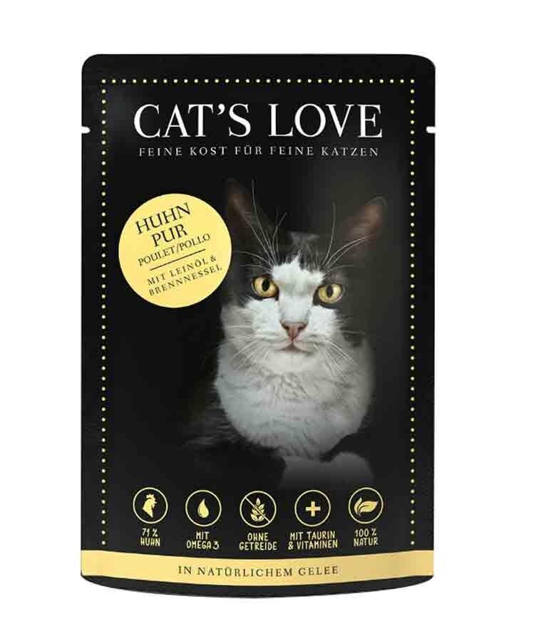 Cat's Love Classic Poulet sans céréales et sans gluten 12 x 85 g