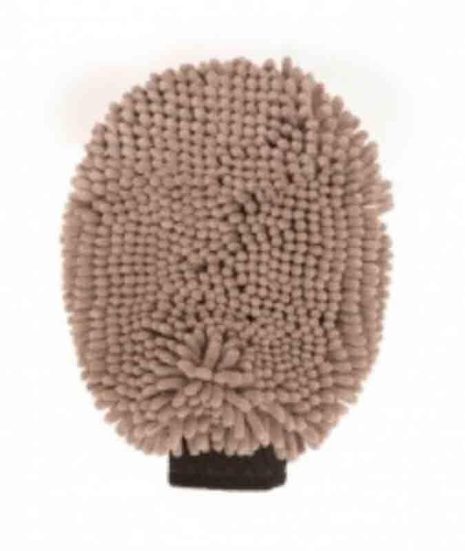 Gloria DGS Dirty Dog Grooming Mitt gant de toilettage gris 25 x 18 cm