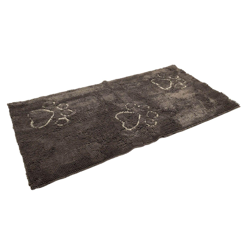 Dog Gone Smart DGS Dirty Dog Doormats Runner tapis gris foncé 152 x 76 cm