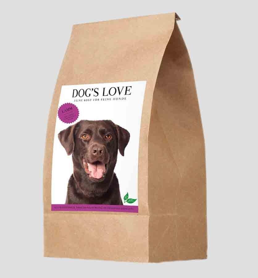 Dog's Love Croquettes Agneau sans céréales et sans gluten 12 kg