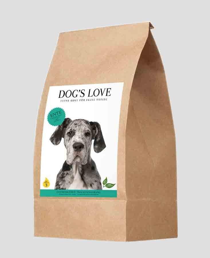Dog's Love Croquettes Canard sans céréales et sans gluten 2 kg