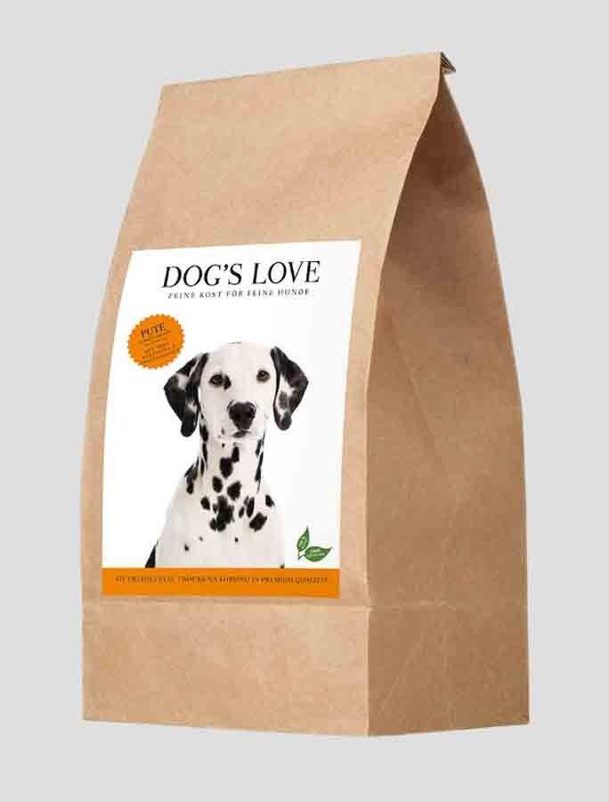 Dog's Love Croquettes Dinde sans céréales et sans gluten 2 kg