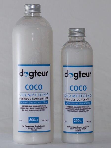 Dogteur Shampooing PRO Dogteur Huile de Coco 10 L