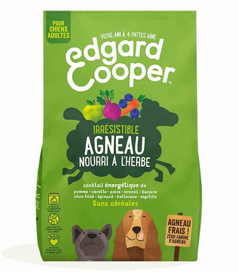 Edgard & Cooper Croquettes Agneau frais sans céréale Chien Adulte 2,5 kg