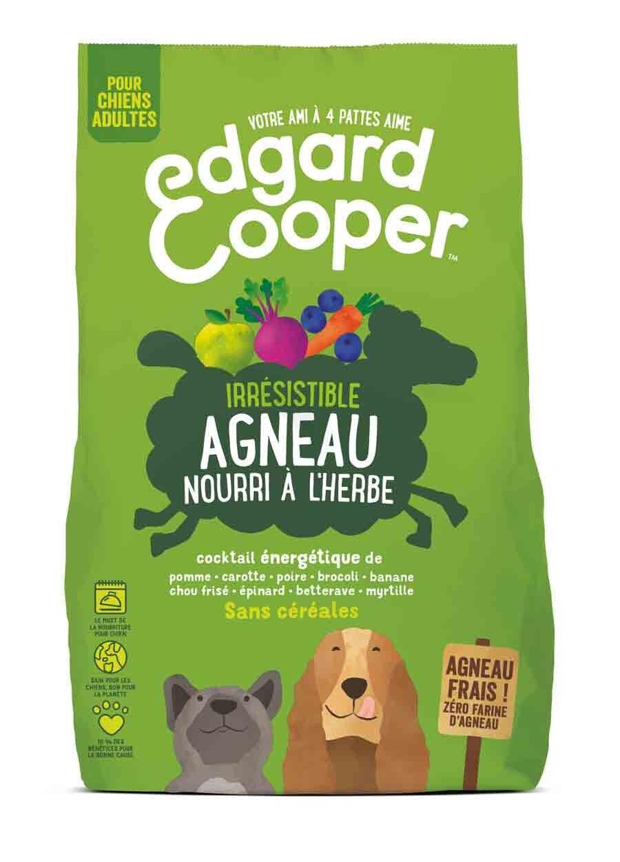 Edgard & Cooper Croquettes Agneau frais sans céréales Chien Adulte 700 g