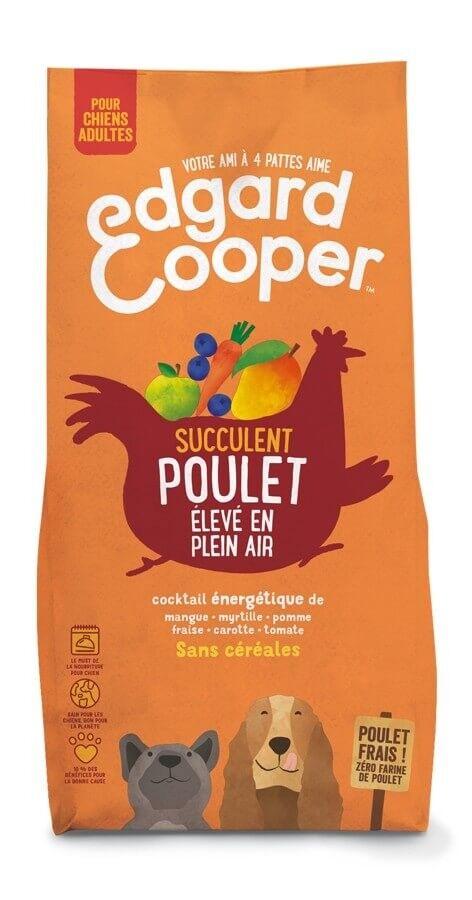 Edgard & Cooper Croquettes au Poulet frais Chien Adulte 7 kg