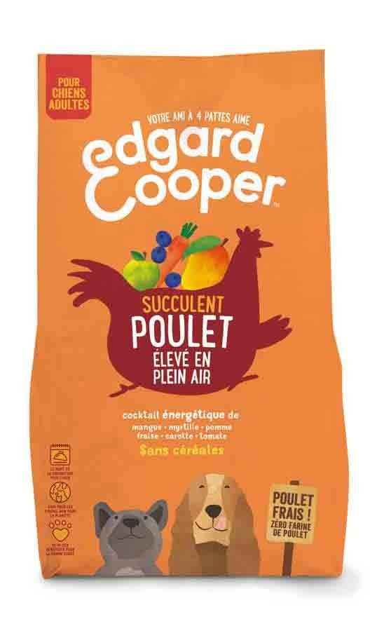 Edgard & Cooper Croquettes au Poulet frais Chien Adulte 700 g