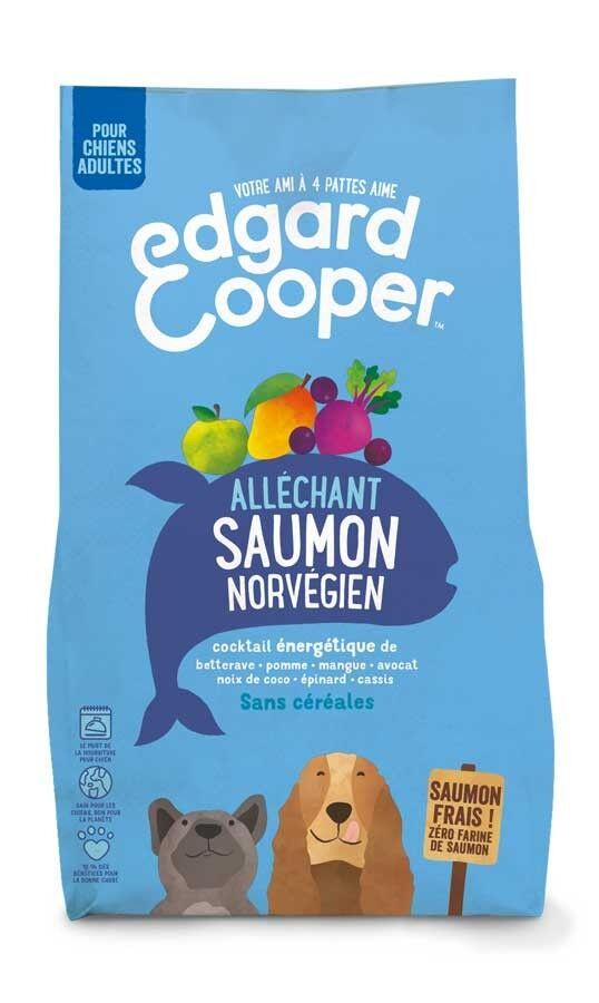 Edgard & Cooper Croquettes au Saumon Norvégien Frais Chien Adulte 2,5 kg