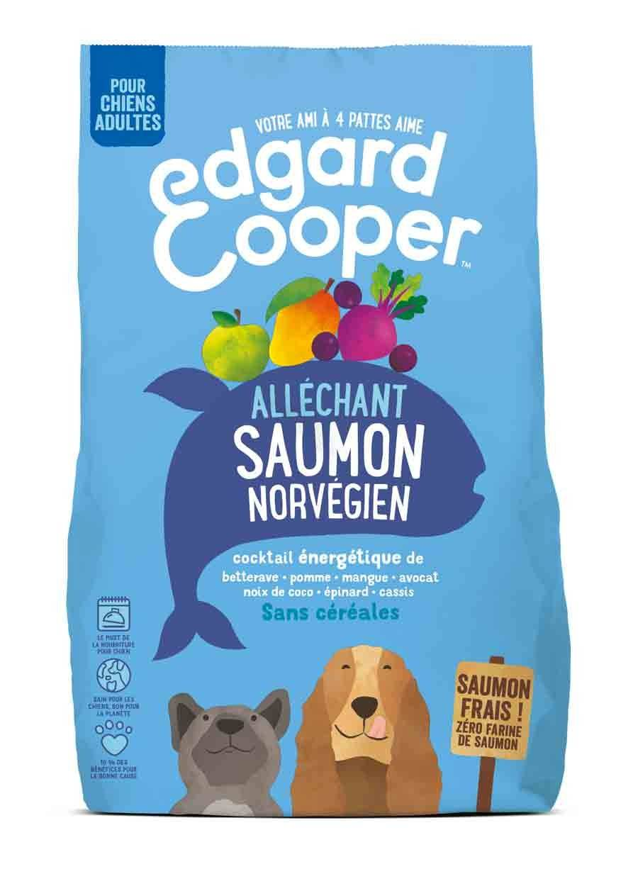 Edgard & Cooper Croquettes Saumon Norvégien Frais Chien Adulte 700 g