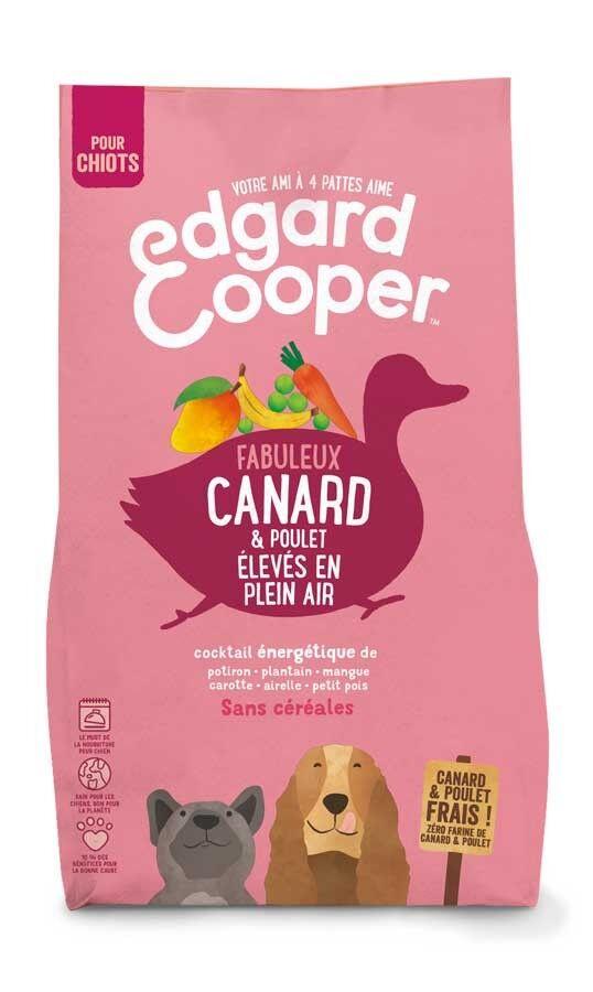 Edgard & Cooper Croquettes Canard et Poulet frais sans céréales Chiot 2,5 kg