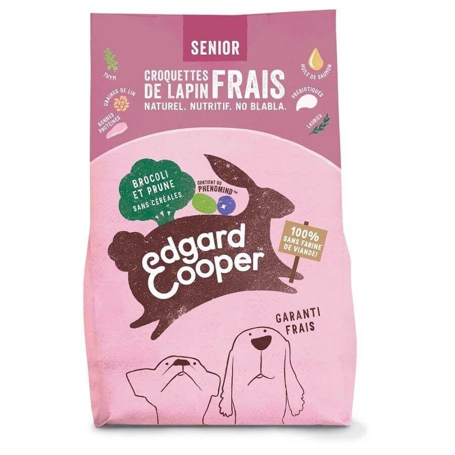Edgard & Cooper Croquettes Lapin frais sans céréale Chien Senior 7 kg