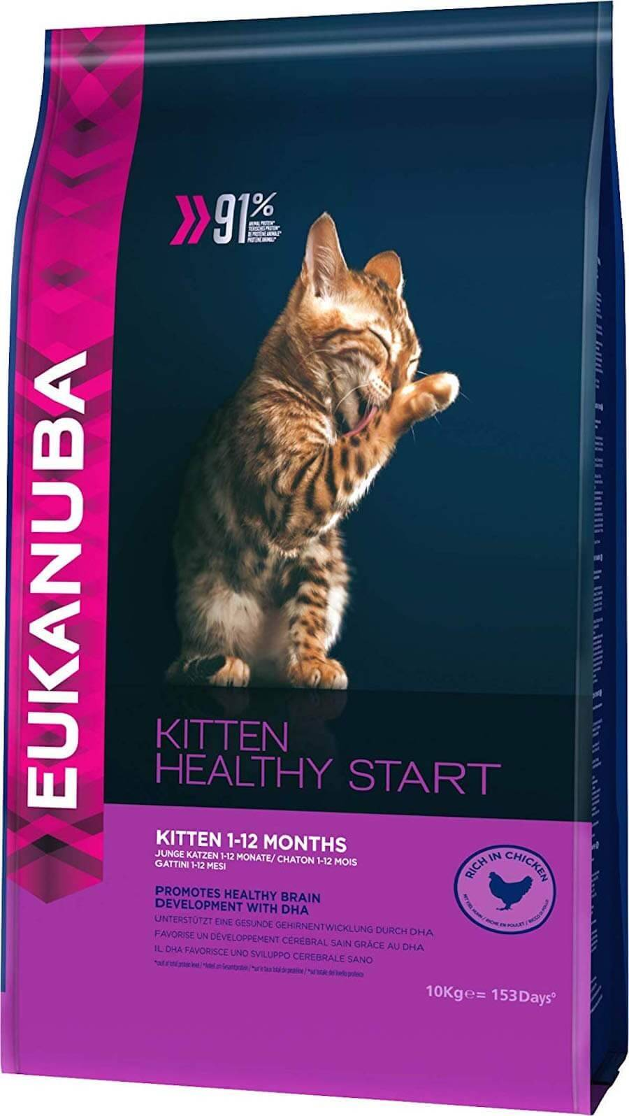 Eukanuba Chaton Healthy Start Kitten 1-12 mois 10 kg