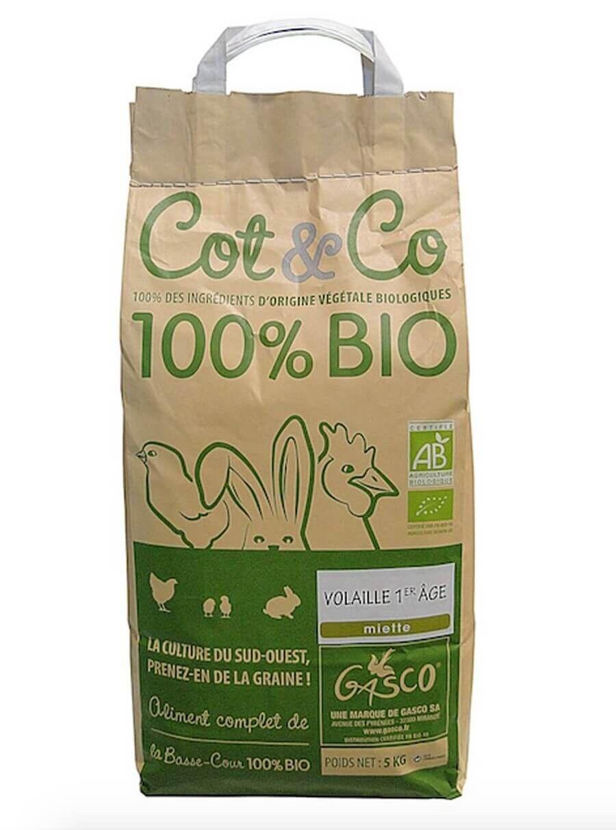 Cot&Co Gasco Cot&Co Bio volaille 1er âge 5 kg