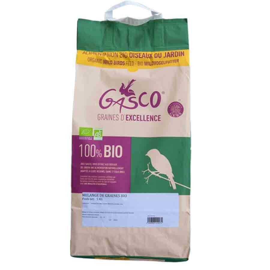 Gasco Mélange de graines Bio pour oiseaux 5 kg