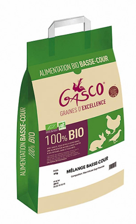 Gasco Mélange basse-cour bio 8 kg