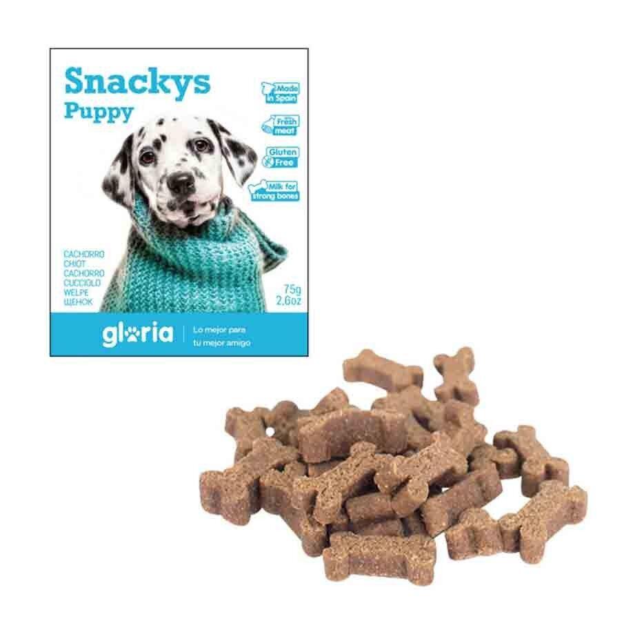 Snackys Gloria Snakys friandises Puppy sans gluten 75 g